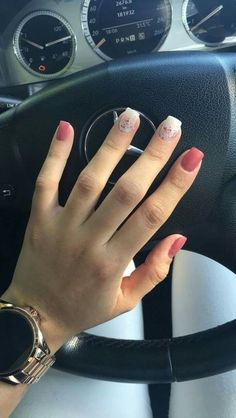 Different Nail Shapes in 2019 Nails, Acrylic Nails fall nails shape - Fall Nails Matte Nails, My Nails, Acrylic Nails, Gel Nail, Shellac, Spring Nail Art, Spring Nails, Fall Nails, Summer Nails