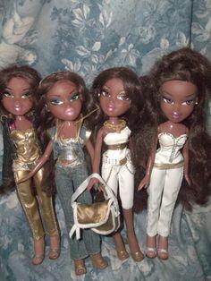 bratz sasha dolls in hip fashions