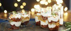 Pikkujoulu Trifle Scandinavian Food, Scandinavian Christmas, New Years Cookies, Tomate Mozzarella, Under The Mistletoe, Monkey Bread, Trifle, Fudge, Panna Cotta