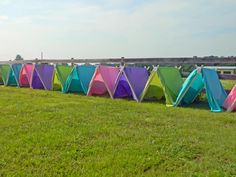 tents for glamping party