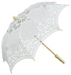 Trouw paraplu's en parasolletjes