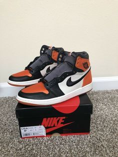 new styles 97449 3085b Jordan 1 Satin Shattered Backboard Size 8.5 Womens   Size 7 Mens  fashion   clothing
