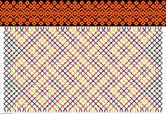 Friendship Bracelet Pattern 1