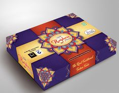Sweet Box design on Behance Custom Packaging Boxes, Box Packaging, Packaging Design, Label Design, Bag Design, Graphic Design, Sweet Box Design, Mithai Boxes, Letter M Logo