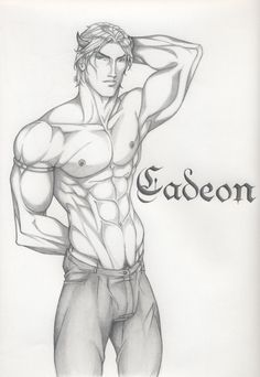 Cadeon Woede by Anyae.deviantart.com on @DeviantArt