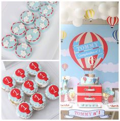 Hot Air Balloon Birthday Party via Kara's Party Ideas | KarasPartyIdeas.com (3)