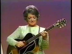Mother Maybelle Carter playing Wildwood Flower at the Johnny Cash show. Also featuring the Carter sisters Anita Carter & Helen Carter. June was not there because she was pregnant of John Carter Cash.