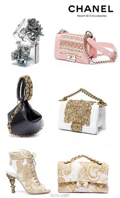 Chanel Resort 2013 Accessories