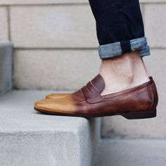 No socks complete this look.Remember shoes without inner lining are meant to be worn barefoot.Discover our loafers - http://bit.ly/1E2ja9j