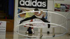 WC 2013 in Wheel Gymnastic Team Netherland Boy Looijen Spirale