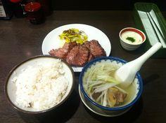 牛タン定食(利久 仙台駅店) 2011/12/30