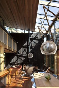 Styles & Decor » Cozy Modern House Of Natural Wood
