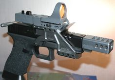 What the...? I want one. Good template to build a race gun.