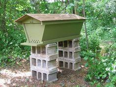 very pretty top bar hive