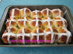 Traditional Hot Cross Buns | The Charmed Kitchen