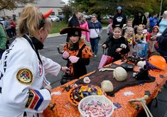 With the increasing popularity of Trunk or Treats, fall festivals and other family-oriented events, will trick-or-treating become a thing of the past? Oct 31, Trunk Or Treat, Young Children, Dates, Michigan, Families, The Past, Trunks, Seasons