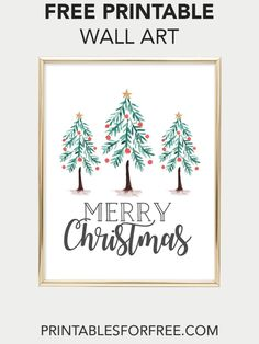 photo about Free Printable Christmas Art known as Xmas Totally free Printable Wall Artwork Printables Xmas