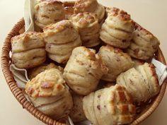 Citromhab: Tepertős pogácsa