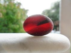 Red sky at night large sea glass multi  by Alienstoatdesigns, $35.00