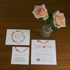 Dear Little Darling - Vintage Wedding Stationery