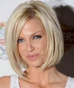 Hairstyles Cuts for Medium Length Straight Fine Thin Hair for Blonde Hair Women