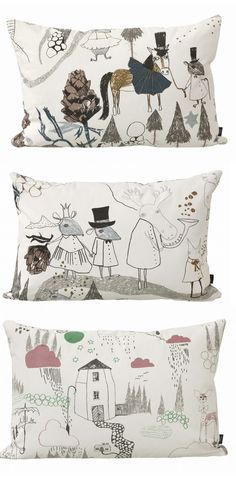 kids cushion design by Ulrika Gustafsson at Ferm Living