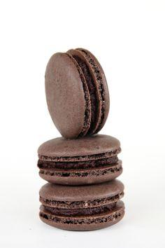 Hot chocolate macarons | A Taste of Koko