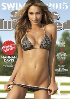 "The 2015 Cover of Sports Illustrated Swimsuit Edition featured a very revealing photo of a model there in a 'barely there' bikini.  The coveted cover of each copy is an honor amungst supermodels.  Being on the cover says ""I am the sex symbol of the year"", but what do young girls think about their own body after seeing this? Young girls are left confused and society has made it okay to take drastic measures to achieve ""cover girl"" beauty."