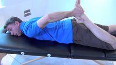 Auto étirement de la hanche