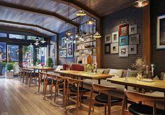 Cafe Paris by Khanh Leu