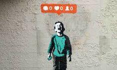 Funny pictures about Banksy On Social Network Madness. Oh, and cool pics about Banksy On Social Network Madness. Also, Banksy On Social Network Madness photos. Street Art Banksy, Banksy Graffiti, Arte Banksy, Bansky, Graffiti Quotes, Graffiti Artists, Sticker Art, David Zinn, Identity Art