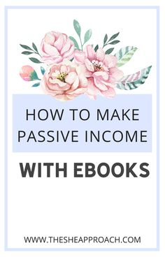 If you are a blogger you need to know that it is a lot of ways trought you can earn money from blogging - If you want to learn how o make money selling e-Books you are in the right place! In this post I am going to teach you how you can make passive income by selling e-Books. So, what are you waiting for?- Read the post on my Blog for more information about this subject #makemoneysellingebooks #makemoneyfromblogging #makemoneyonline #digitalproducts Make Money Blogging, Make Money Online, How To Make Money, Earn Extra Income, Extra Money, Business Marketing Strategies, Passive Income Streams, Get Out Of Debt, Online Jobs