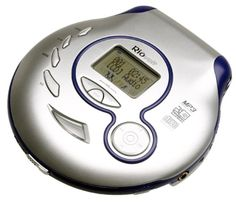 RioVolt SP100 Portable CD/MP3 Player with 120 Second Anti-Shock Rio