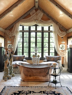 Opulant Bathrooms On Pinterest Bathroom Mirrored Vanity