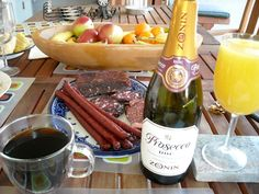 Zonin Prosecco with brunch