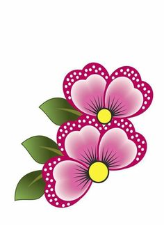 Qué hermosa flor Applique Patterns, Beading Patterns, Fabric Painting, Diy Painting, Flower Frame, Flower Art, Rock Flowers, Drawing Projects, Flower Doodles