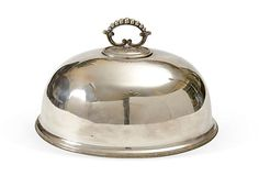 English Silverplate Entree Dome on OneKingsLane.com