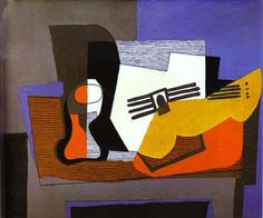 Still Life with Guitar (1922)