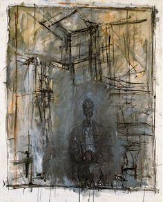 Portrait - Alberto Giacometti - WikiPaintings.org
