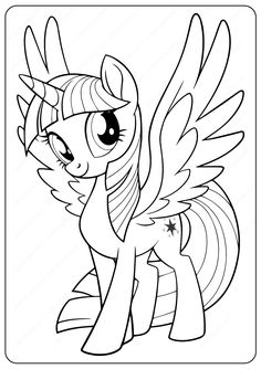 Printable My Little Pony Twilight Sparkle Coloring Pages. Top quality free printable coloring, drawing, painting pages here for boys, girls, children . Elsa Coloring Pages, Unicorn Coloring Pages, Princess Coloring Pages, Coloring Pages For Girls, Cartoon Coloring Pages, Printable Coloring Pages, Coloring Books, Children Coloring Pages, Frozen Coloring Sheets