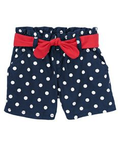 Patriotic Dots Shorts from Gymboree on Catalog Spree, my personal digital mall.