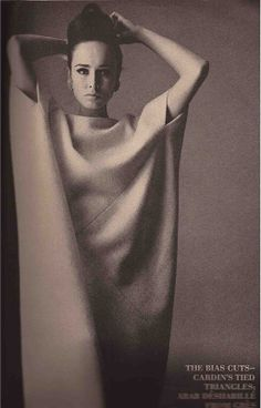 Vogue September 1963 GRES Photo Irving Penn