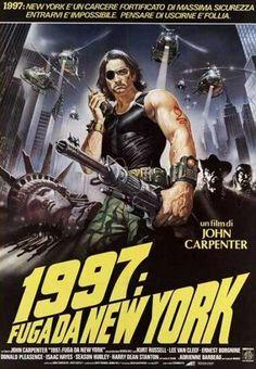 "MP893. ""Escape from New York"" Italian Movie Poster by Renato Casaro (John Carpenter 1981) / #Movieposter"