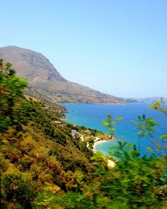 Souda Bay coastline of the Greek island of Crete_ Greece
