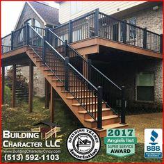 13 Best Deck Ideas images | Wood decks, Deck builders, Deck