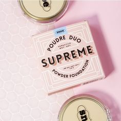 Literally S U P R E M E 💖 Poudre Duo Supreme wet and dry face powder . 🦄 Packed with Advanced pigments and formulated with superfood Ingredients 🦄Flexible and Flawless 🦄with SPF 30  Dry Face, Powder Foundation, Face Powder, Wet And Dry, Superfood, Supreme, Packing, Lipstick, Makeup