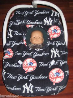 new york yankees baby blanket | Infant Baby Car Seat Cover Jacket Matching Hat Fleece Lion New in Baby ...