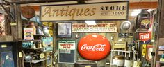 The Phoenix, AZ - Brass Armadillo Antique Mall has aisles full of millions of antiques and collectibles, you'll discover antiques of every kind