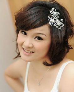 17 Best Hair Accessories Images Short Haircuts Bridal Headpieces