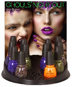 China Glaze Halloween 2015 Ghouls' Night Out Collection
